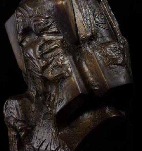 Глава VI бронз, 50x40x40