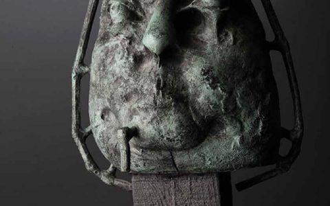 Портрет, бронз,50x40x45